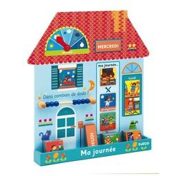 Djeco Eduludo Ma Journée-Maison de Djeco/Djeco Eduludo Day Planner-House