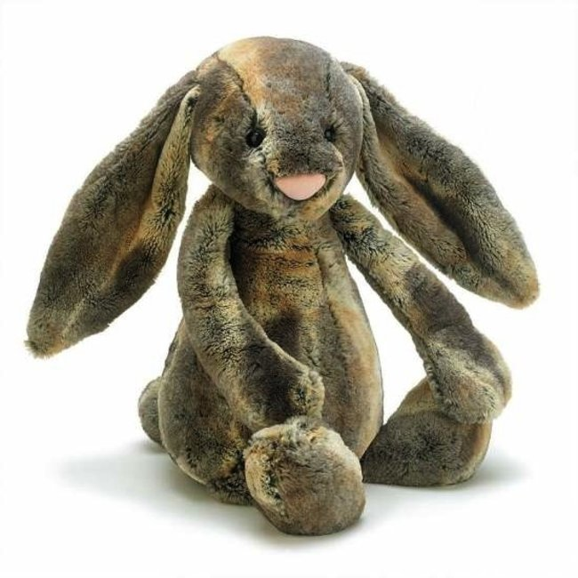 Jellycat Lapin des Bois de Jellycat/Jellycat Woodland Bunny Babe, Moyen/Medium, 12 pouces/inches