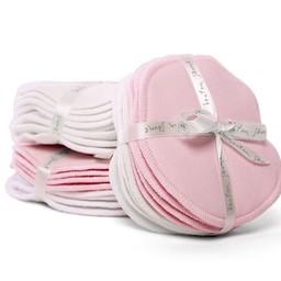 Bouton Jaune Compresses d'Allaitement en Coton Organique de Bouton Jaune/Bouton Jaune Organic Cotton Nursing Pads, Rose/Pink