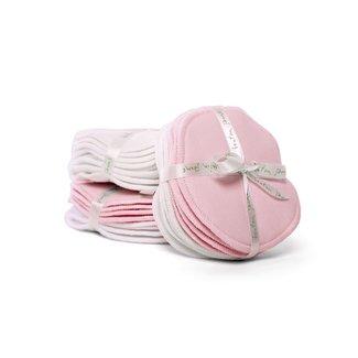 Bouton Jaune Bouton Jaune - Compresses d'Allaitement en Coton Organique, Rose