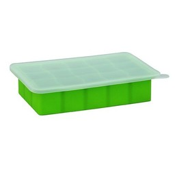 Green Sprouts Green Sprouts - Plateau à Congélation En Silicone pour Bébé/Freezer Silicone Tray, Green/Vert