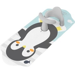 Kushies Kushies - Tapis de Bain Antidérapant avec Support Aqua Splash/Aqua Splash Non-Slip Bath Mat with Support, Pingouin/Penguin