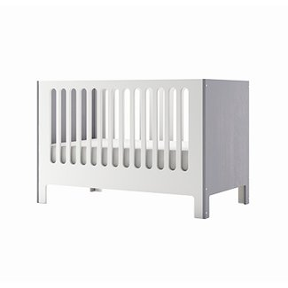 Dutailier Dutailier Cupcake - Convertible Crib, Grey and White, Programme Stock