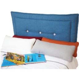 Dutailier Dutailier - Housse de Tête de Lit Rembourrée avec Boutons (2 Couleurs de Tissu)/Soft Bedhead with Inserted Buttons (2 Colors Fabric)