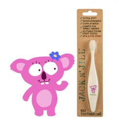 Jack&Jill Brosse à Dents Koala Biodégradable/Bio Toothbrush Koala Biodegradable