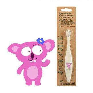 Jack&Jill Brosse à Dents Koala Biodégradable/Bio Toothbrush Koala Biodegradable