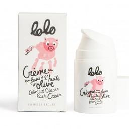 Lolo et moi Lolo et Moi - Crème pour les Fesses/Diaper Rash Cream, 50ml