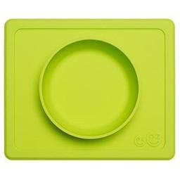 Ezpz EzPz - Napperon et Bol Tout-en-un Mini Bowl/Mini Bowl All-in-one Placemat and Bowl, Lime