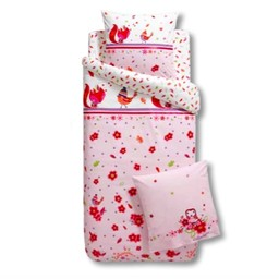 Catimini Taie d'Oreiller de Catimini/Catimini Pillow Case, 65x65cm, Rêve d'Automne