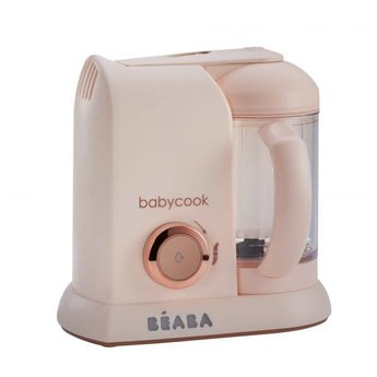 Béaba Beaba - Robot Culinaire Babycook/Babycook Culinary Robot, Rose Or/Pink Gold