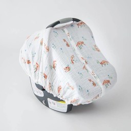 Little Unicorn Little Unicorn - Abri pour Siège de Voiture/ Car Seat Canopy, Renard/Fox