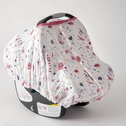 Little Unicorn Little Unicorn - Abri pour Siège de Voiture/Car Seat Canopy, Jardin des Fées/Fairy Garden