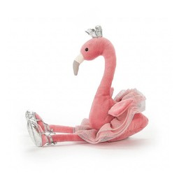 "Jellycat Jellycat - Flamant Rose Gracieux 15""/Fancy Flamingo 15"""