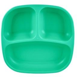 Re-Play Re-Play - Assiette à Compartiments/Divided Plates, Aqua
