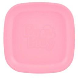 Re-Play Re-Play - Assiette de Plastique/Plastic Plate, Rose Bébé/Baby Pink
