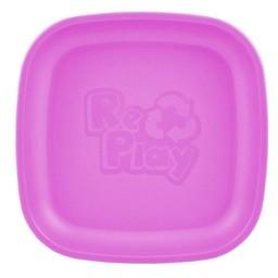 Re-Play Re-Play - Assiette de Plastique/Plastic Plate, Mauve/Purple