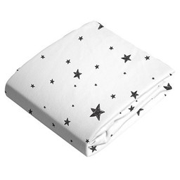 Kushies Kushies - Couvre-Matelas à Langer en Flanelle/Flannel Change Pad Fitted Sheet, Étoiles/Stars