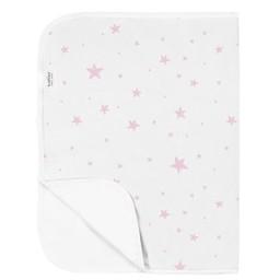 Kushies Kushies - Piqué/Baby Change Pad, Étoiles Rose/Pink Stars