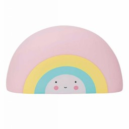 A Little Lovely Company A Little Lovely Company - Jouet de Bain Arc-en-Ciel/Rainbow Bath Toy