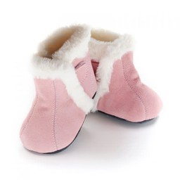 Jack & Lily Jack & Lily - Mocassins Botillons/My Moc Boots, Rebecca. Suède Rose/Pink Suede