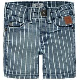 Tumble n Dry Tumble N'Dry - Short en Jeans Nelis/Nelis Jeans Short, Rayé Jeans/Jeans Stripes