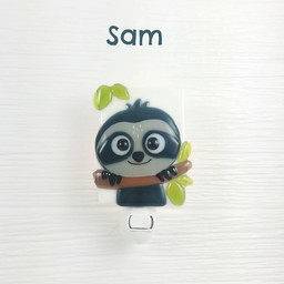 Veille Sur Toi Veille sur Toi - Veilleuse en verre Sam le Paresseux/Night Light Sam the Sloth