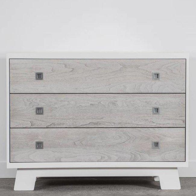 Dutailier Dutailier Pomelo - 3 Drawer Dresser, Rustic Grey, Stock Program