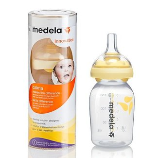 Medela Medela - Système de Nutrition Calma avec Biberon de 150mL/Calma Nutrition System with Bottle of 150mL