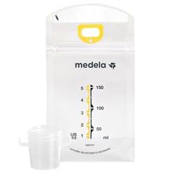 Medela Medela - Paquet de 50 Sacs de Conservation du Lait Maternel Pump and Save/Pack of 50 Pump And Save Breastmilk Bags