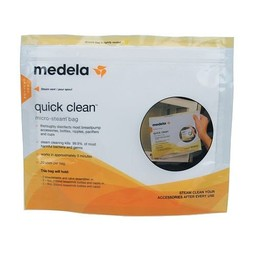 Medela Medela - Paquet de 5 Sacs Quick Clean Micro-Steam/Pack of 5 Quick Clean Micro-Steam Bags