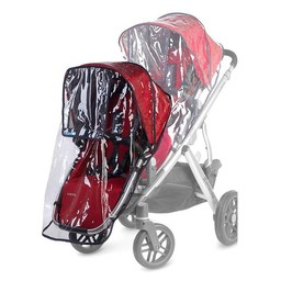 UPPAbaby UPPAbaby Vista - Protecteur contre la Pluie pour Rumbleseat/UPPAbaby Rain Shield for Vista Rumble Seat