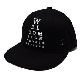 L&P l&P - Casquette Eyechart/Eyechart Cap, Noir/Black