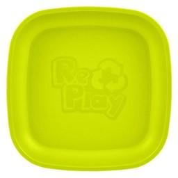 Re-Play Re-Play - Assiette de Plastique/Plastic Plate, Vert Lime/Lime Green