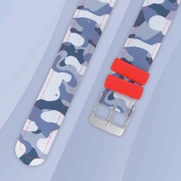 Twistiti Twistiti - Bracelet de Montre/Watch Strap, Camouflage Artique/Artic Camo