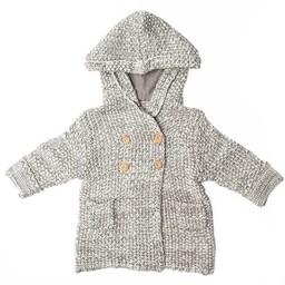 Beba Bean Beba Bean - Veste à Capuchon en Tricot /Crochet Knit Hoodie