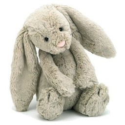 Jellycat Lapin Bashful de Jellycat/Jellycat Bashful Bunny, Beige, Très Grand/Huge, 21 Pouces/Inches