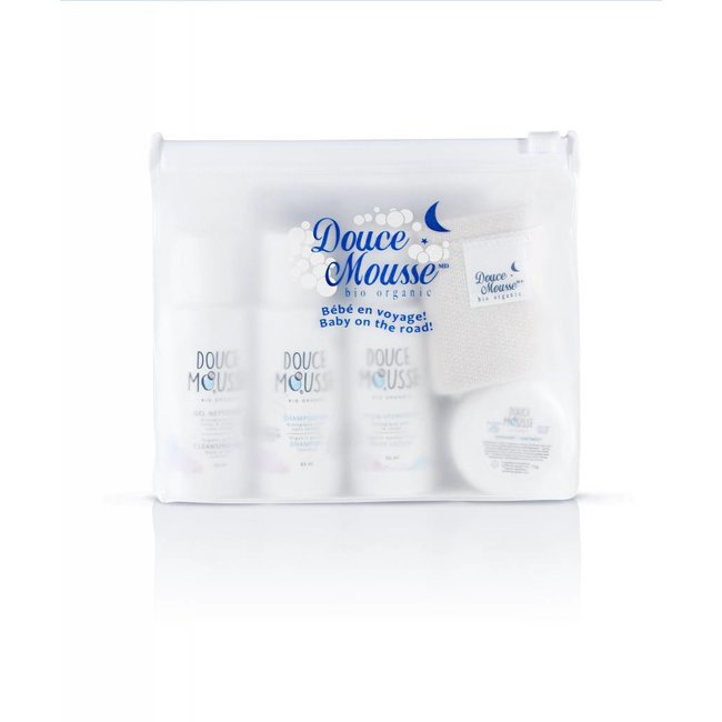 Douce mousse Douce Mousse - Baby on the Road Organic Kit