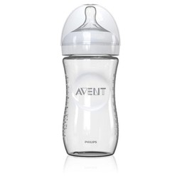Philips Avent Biberon Naturel en Verre 8oz de Philips AVENT/Philips AVENT Natural Single Glass Bottle 8oz