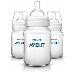 Philips Avent Ensemble de 3 Biberons Naturels 9oz de Philips AVENT/Philips AVENT Set of 3 Natural Bottles, 9oz