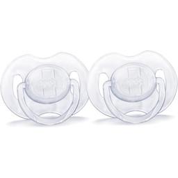 Philips Avent Suces Translucides de Philips AVENT/Philips AVENT Translucent Soother, 0-6 mois/months