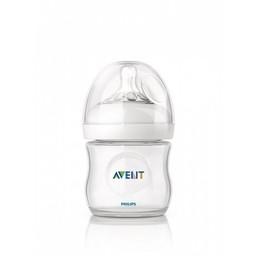 Philips Avent Biberon Naturel 4oz de Philips AVENT/Philips AVENT 4oz Natural Bottle