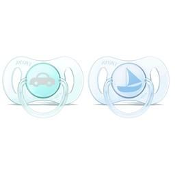 Philips Avent Philips AVENT - Mini Suces pour Nouveau-né/Newborn Mini Pacifier, 0-2 mois/months, Transport
