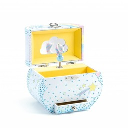 Djeco Djeco - Boîte à Musique/Music Box, Rêve de Licorne/Unicorn Dream