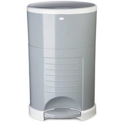 Dékor Dékor - Poubelle à Couches Plus/Plus Diaper Disposal, Gris/Grey