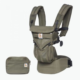 Ergobaby Ergobaby - Porte-Bébé Omni 360 Cool Air/Omni 360 Cool Air Baby Carrier, Filet Kaki/Kaki Mesh