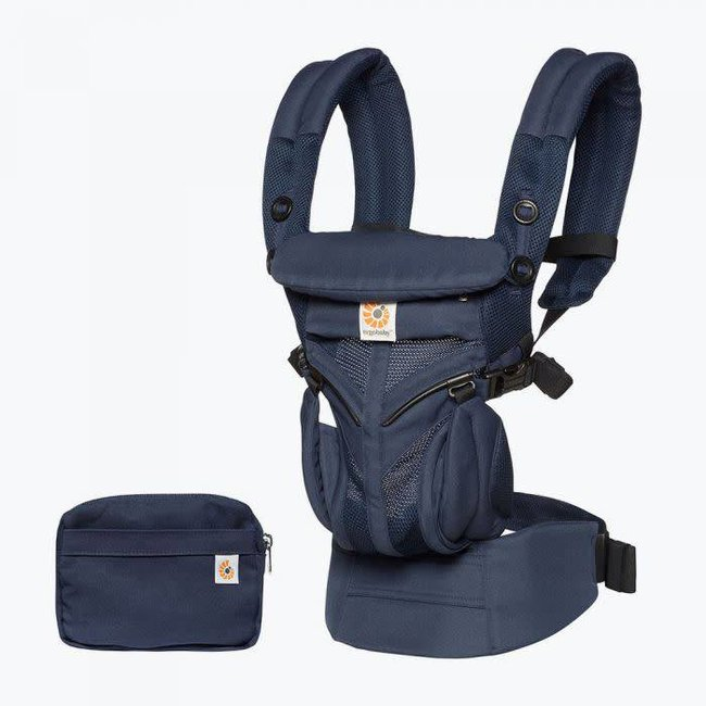 Ergobaby Ergobaby - Omni 360 Cool Air Baby Carrier, Midnight Blue Mesh