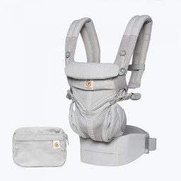 Ergobaby Ergobaby - Porte-Bébé Omni 360 Cool Air/Omni 360 Cool Air Baby Carrier, Filet Gris Perle/Pearl Grey Mesh