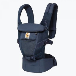 Ergobaby Ergobaby - Porte-Bébé Adapt Cool Air/Adapt Cool Air Baby Carrier/Filet Bleu Foncé/Deep Blue Mesh
