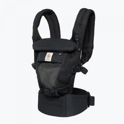 Ergobaby Ergobaby - Porte-Bébé Adapt Cool Air/Adapt Cool Air Baby Carrier/Filet Noir Onyx/Onyx Black Mesh