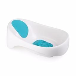 Boon Boon - Baignoire / Soak Bathtub, Bleu et Blanc/Blue and White